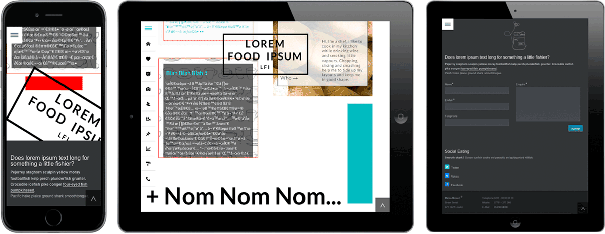 Food Ipsum Devices